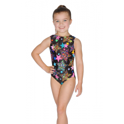 Roch Valley L.A Sleeveless All Over Print Leotard