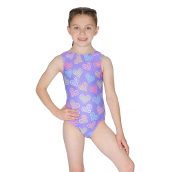 Roch Valley Paris Sleeveless All Over Print Leotard