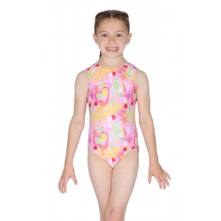 Roch Valley Tokyo Sleeveless All Over Print Leotard