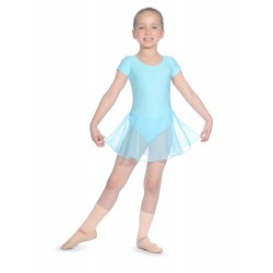 Roch Valley Short Sleeved Leotard with Attached Skirt (Size 0-3a)