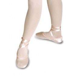 Roch Valley 2SS/S Childrens Split Sole Satin Ballet Shoes