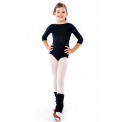 Sasuel Basic Juvenille Leotard ¾ Sleeves