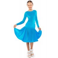 Sasuel Adele Juvenile Stretch Velvet Dress