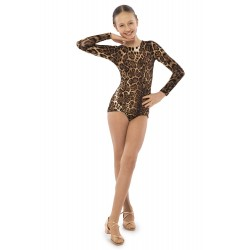 Sasuel Basic Long Sleeved Leotard