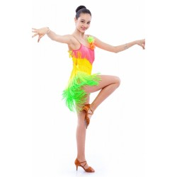 Sasuel Daisy Latin Dress