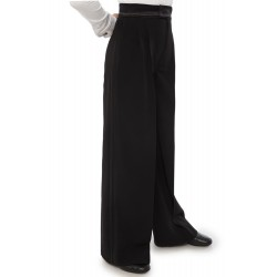 Sasuel Latin Trousers Double Satin Binding