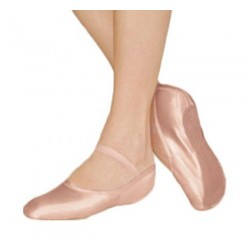 So Danca BAE 16 Childrens Full Sole Satin Ballet Shoe