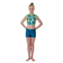 Tappers & Pointers Amazon Hologram Shine Childrens Hipster Shorts