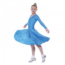 Tappers & Pointers BALLROOM/4 Long Sleeve Standard Length Ballroom Dress