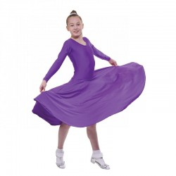 Tappers & Pointers BALLROOM/5 Long Sleeve Longer Length Ballroom Dress