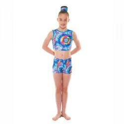 Tappers & Pointers Meteor Childrens Crop Top and Hipster Shorts