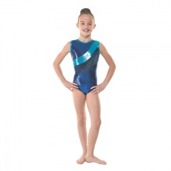 Tappers & Pointers Astro Shine Sleeveless Leotard (Size 3 & 4)