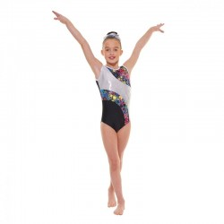 Tappers & Pointers Astro Foil Sleeveless Leotard (Size 3 & 4)