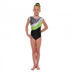 Tappers & Pointers Cascade Sleeveless Leotard (Size 3 & 4)