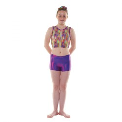 Tappers & Pointers Joker Purple Shine Childrens Hipster Shorts