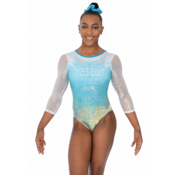 The Zone Aura ¾ Sleeve Leotard (Size 34-38)