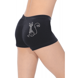 The Zone Z2000 Childrens Smooth Velour Hipster Shorts - CAT Motif