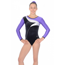 The Zone Cosmic Long Sleeve Leotard (Size 24-32)
