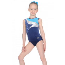 The Zone Cosmic Sleeveless Leotard (size 24-32)