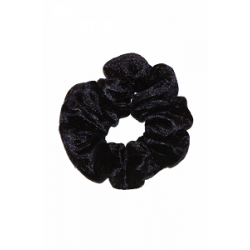 The Zone Crushed Velour Scrunchie