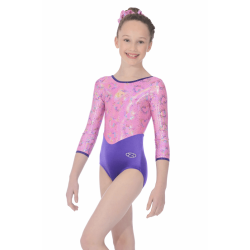 The Zone Cupid ¾ Sleeve Leotard (Size 34-38)