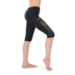 The Zone Z681M Matt Lycra Motif Leggings (Size 24-32)