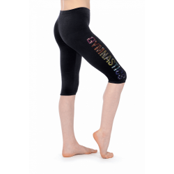 The Zone Z681 Smooth Velour Motif Leggings (Size 24-32)