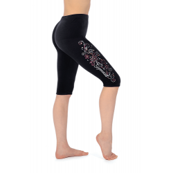 The Zone Z681 Smooth Velour Leggings - Motif LM2