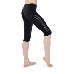 The Zone Z681 Smooth Velour Leggings - Motif LM3
