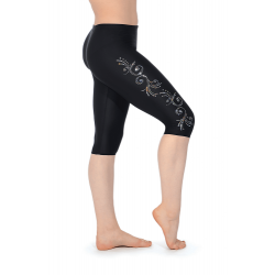 The Zone Z681 Childrens Smooth Velour Leggings - Motif LM4