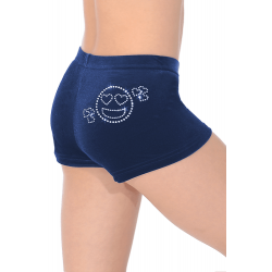 The Zone Z2000 Smooth Velour Hipster Shorts - SMI Motif