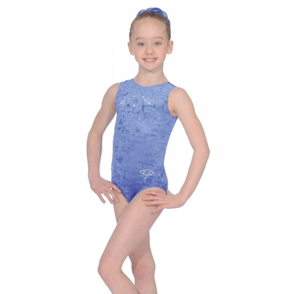 Zone Stellar Gymnastic Leotard Girls Leotard Purple velour leotard