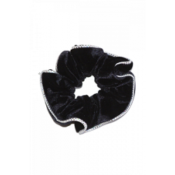 The Zone Two-Tone Velour Scrunchie