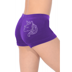 The Zone Z2000 Smooth Velour Hipster Shorts - UNI Motif