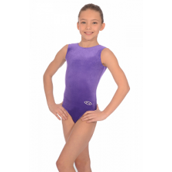 The Zone Classic Sleeveless Smooth Velour Leotard (Size 24-32)