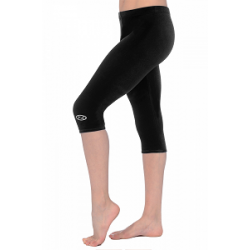 The Zone Smooth Velour Capri Leggings (Size 24-32)