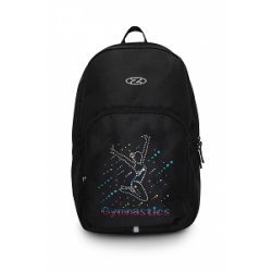 The Zone Black Back Pack Bag