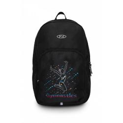 The Zone Black Back Pack Bag